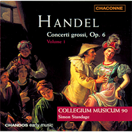 Produktbilde for Handel: Concerti grossi, Op. 6 Nos. 1-5 (CD)