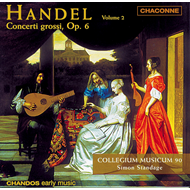 Produktbilde for Handel: Concerti grossi, Op. 6, Nos 6-9 (CD)
