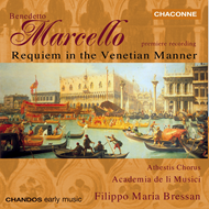 Produktbilde for Marcello: Requiem in the Venetian Manner (CD)