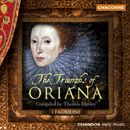Produktbilde for The Triumphs of Oriana (CD)