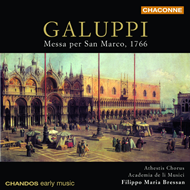 Produktbilde for Galuppi: Messe per San Marco (CD)