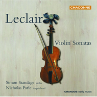 Produktbilde for Leclair: Violin Sonatas (CD)