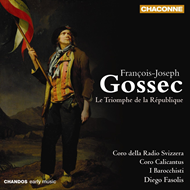 Produktbilde for Gossec: Le Triomphe de la République (CD)