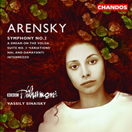 Produktbilde for Arensky: Symphony No 2; Overture (CD)
