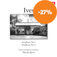 Produktbilde for Ives: Symphonies Nos 1 & 2 (CD)