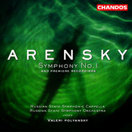 Produktbilde for Arensky: Symphony No 1 (CD)