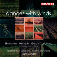 Produktbilde for Dances with Winds (CD)