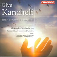 Produktbilde for Kancheli: Mourned by the Wind; Simi (CD)