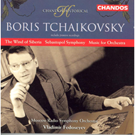 Produktbilde for Tchaikovsky, B: Sebastopol Symphony; The Wind of Siberia (CD)