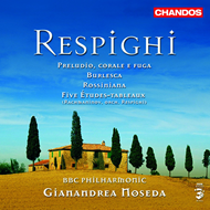 Produktbilde for Respighi: 5 Etudes-tableaux; Preludio, corale e fuga; Rossiniana (CD)