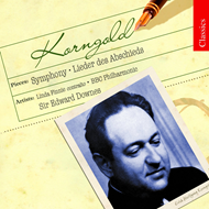 Produktbilde for Korngold: Abschiedslieder; Symphony in F sharp minor (CD)