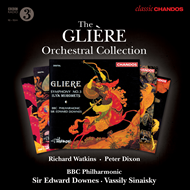 Produktbilde for Glière: The Orchestral Collection (5CD)