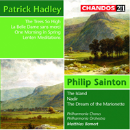 Produktbilde for Hadley; Sainton: Choral and Orchestral Works (CD)