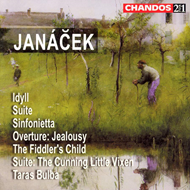 Produktbilde for Janácek: Orchestral Works (CD)