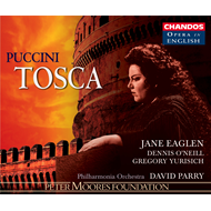 Produktbilde for Puccini: Tosca (in English) (UK-import) (CD)