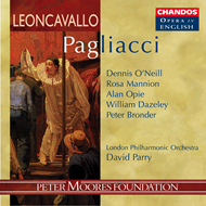 Produktbilde for Leoncavallo: Pagliacci (in English) (CD)