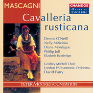 Produktbilde for Mascagni: Cavalleria Rusticana (in English) (CD)