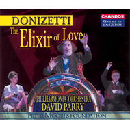 Produktbilde for Donizetti: L'Elisir d'Amore (in English) (CD)
