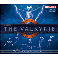 Produktbilde for Wagner: The Valkyrie (CD)