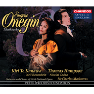 Produktbilde for Tchaikovsky: Eugene Onegin (CD)