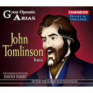 Produktbilde for Great Operatic Arias - John Tomlinson (CD)