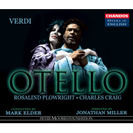 Produktbilde for Verdi: Otello (sung in English) (CD)