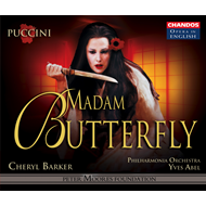 Produktbilde for Puccini: Madam Butterfly (sung in English) (CD)