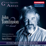 Produktbilde for Great Operatic Arias: John Tomlinson (CD)