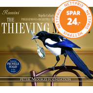 Produktbilde for Rossini: The Thieving Magpie (CD)