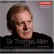 Produktbilde for Sir Thomas Allen - Great Operatic Arias (CD)