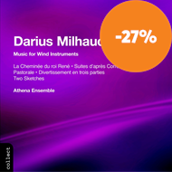 Produktbilde for Milhaud: Music for Wind Instruments (CD)