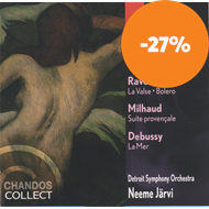 Produktbilde for French Favourites - Ravel; Milhaud; Debussy (CD)