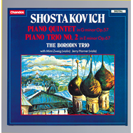 Produktbilde for Shostakovich: Piano Quintet; Piano Trio No 2 (CD)
