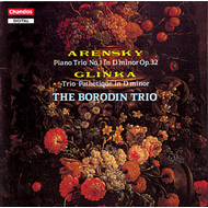 Produktbilde for Arensky/Glinka: Piano Trios (CD)