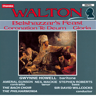 Produktbilde for Walton: Choral Works (CD)