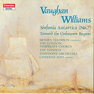 Produktbilde for Vaughan Williams: Symphony No 7; Toward the Unknown Region (CD)