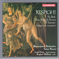 Produktbilde for Respighi: Vocal and Orchestral Works (CD)