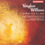 Produktbilde for Vaughan Williams: Symphony No. 9 (CD)