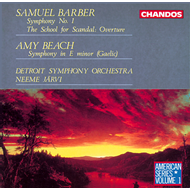 Produktbilde for Barber/Beach: Orchestral works (CD)