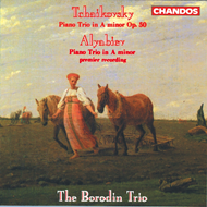 Produktbilde for Tchaikovsky/Alyabiev: Piano Trios (CD)