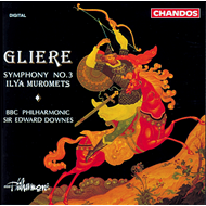 Produktbilde for Glière: Symphony No. 3 (CD)