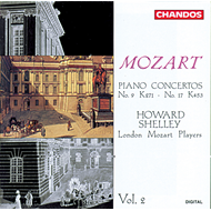 Produktbilde for Mozart: Piano Concertos, Vol. 2 (CD)