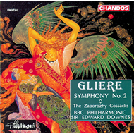 Produktbilde for Glière: Symphony No. 2 (CD)