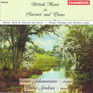 Produktbilde for British Music for Clarinet and Piano (CD)