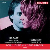 Produktbilde for Mozart/Schubert: Piano Works for Four Hands (CD)