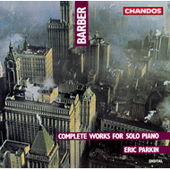 Produktbilde for Barber: Piano Works (CD)