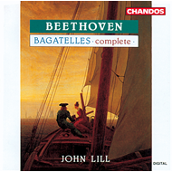 Produktbilde for Beethoven: Bagatelles (CD)