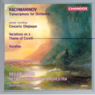 Produktbilde for Rachmaninov: Orchestral transcriptions (CD)