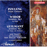 Produktbilde for Poulenc/Guilmant/Widor: Organ Works (CD)
