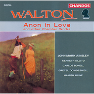 Produktbilde for Walton: Chamber Music (CD)